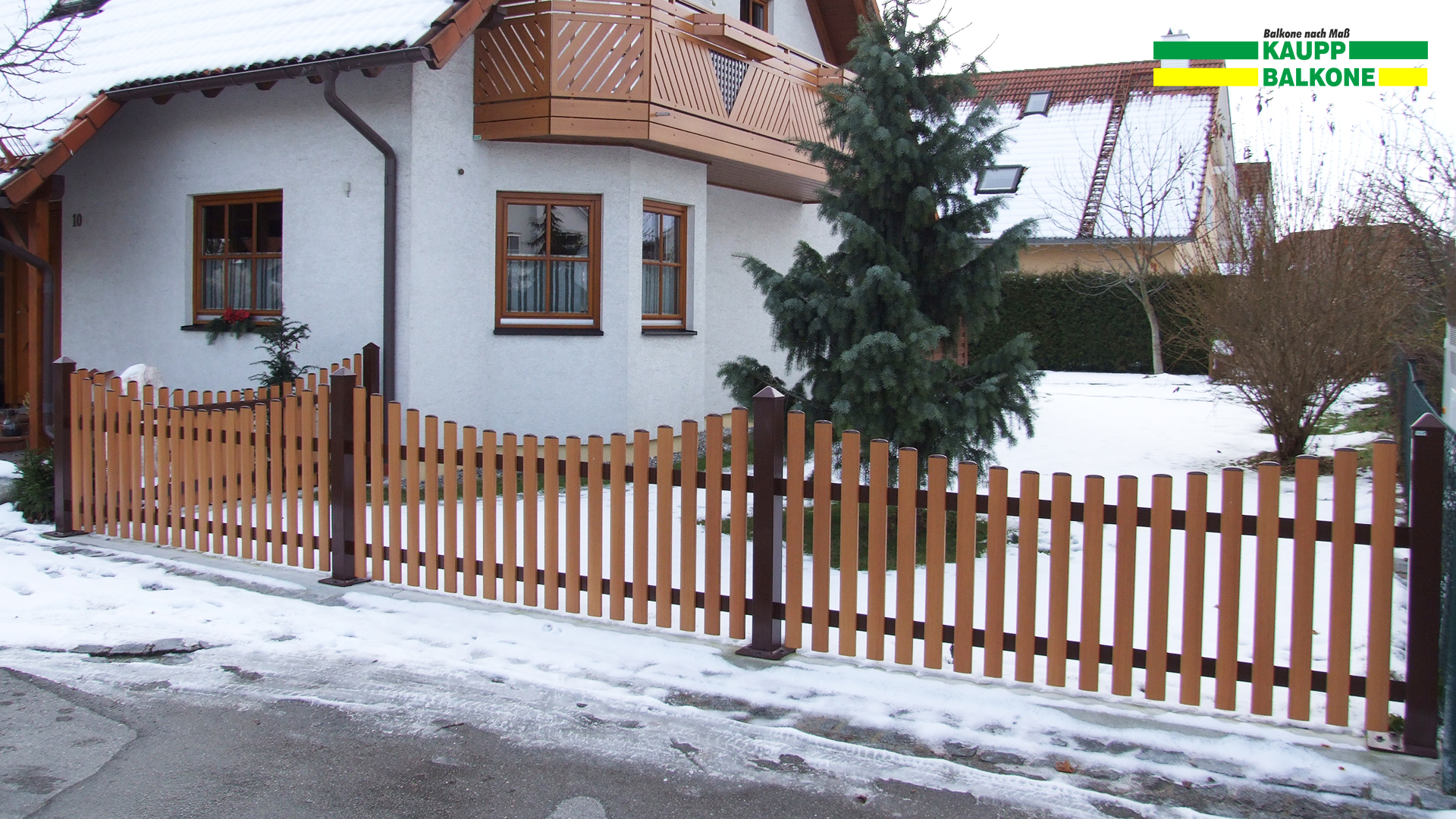 Alu Gartenzaun Augsburg