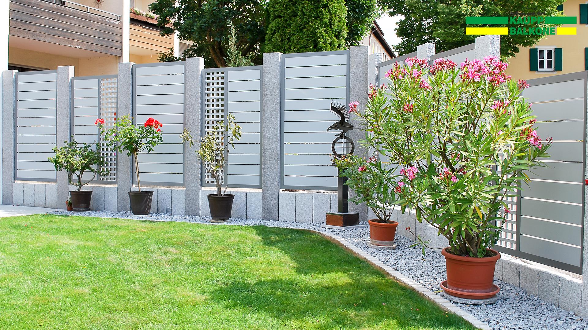 alu sichtschutz dornstadt kaupp balkone sterreich. Black Bedroom Furniture Sets. Home Design Ideas
